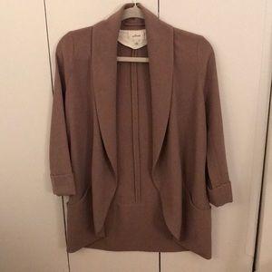 """Aritzia Wilfred """"chevalier"""" open front blazer"""